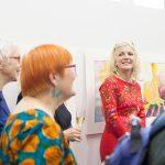 Totta ja Tarua, 20-vuotisjuhlanäyttely, avajaiset, 2018, kuvaaja Anu Pynnönen