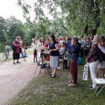Suuri Maalaustapahtuma 10.7. Lapinlahden Lähde, kuvaaja Benita Suomi