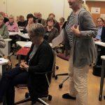 IWS Finlandin leader Aulikki Nukala kertoo yhteistyökuvioista SAyn kanssa