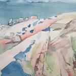 Meri Lauttasaaressa, 40 x 30 cm